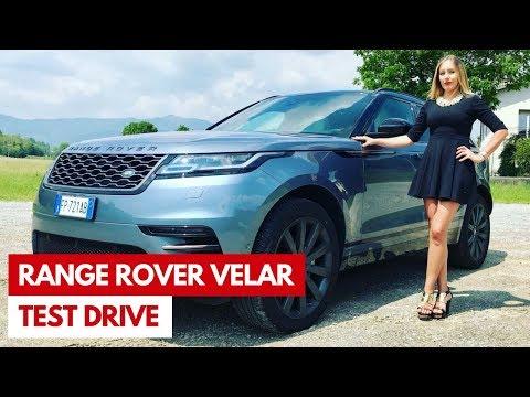 Range Rover Velar | Test Drive del SUV elegante e sportivo
