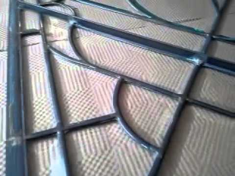 Repair of a leaded glass door panel youtube planetlyrics Gallery
