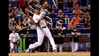 The New York Yankees get Giancarlo Stanton from Miami Marlins