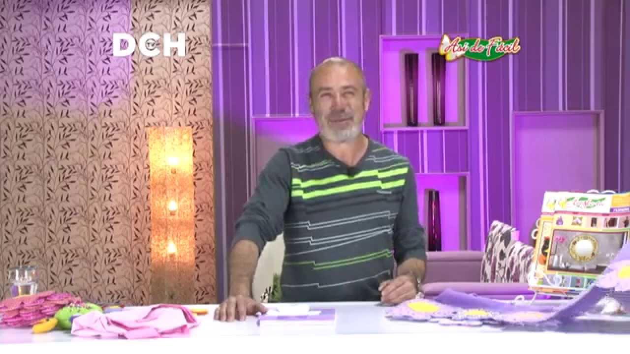 Lenceria De Baño Con Sonia Franco:Sonia Franco Programa Nuestra Casa Flores De Tela Y