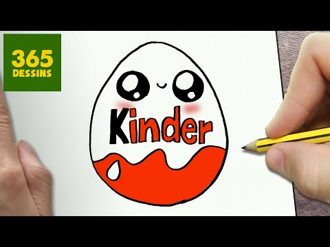 Comment Dessiner Kinder Kawaii étape Par étape Dessins