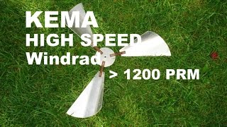KEMA HIGH SPEED WINDRAD 1200 RPM