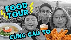 #TravelVlog | Saigon #2: Ăn cả Sài Gòn cùng Gấu To. | Tân 1 Cú