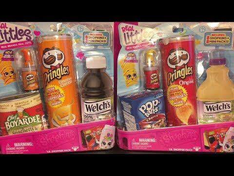 Shopkins Real Littles Season 12 Packs Real Brands Blind Bag Toy Opening