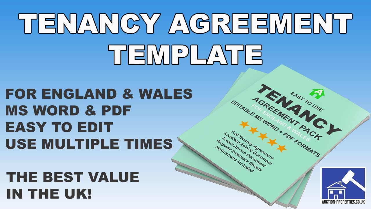 2021 Tenancy Agreement Template England And Wales Word Doc