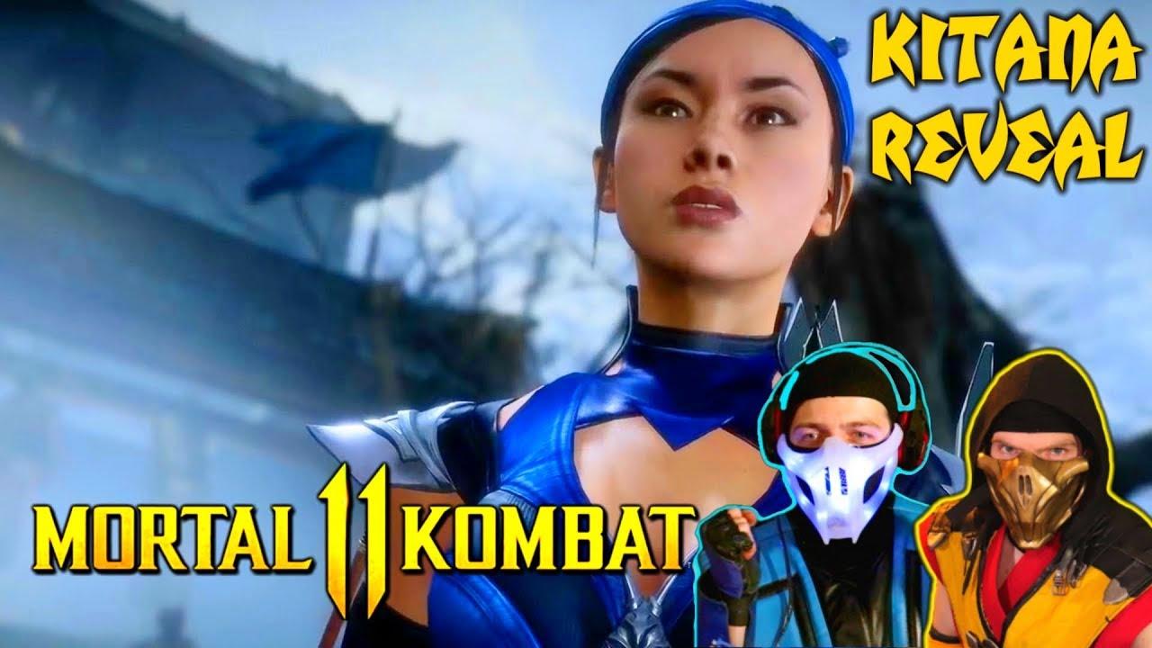 Scorpion Sub Zero React Mortal Kombat 11 Kitana D Vorah