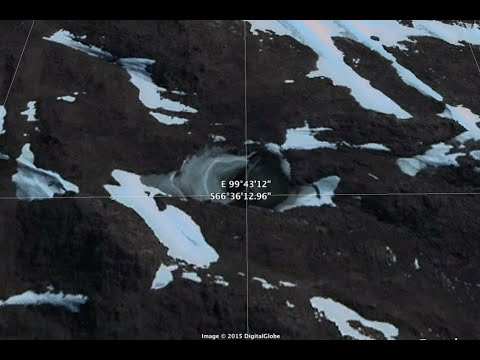 Antarctica Nazi underground base found on Google Earth in New Swabia!