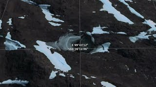 Antarctica Nazi underground base found on Google Earth in New Swabia!