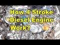 4 stroke diesel engine working principle