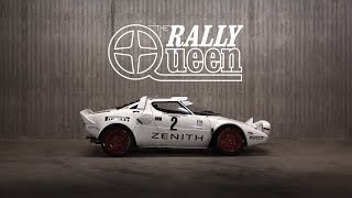 1974 Lancia Stratos Group 4: Sliding The Rally Queen