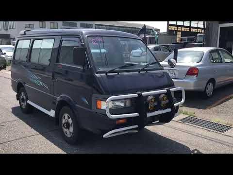 Mazda bongo 1991 - YouTube