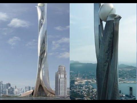 The Pearl Hong Kong Skyscraper :Extraordinary Building From Movie Skyscraper :A Future Mega Project?