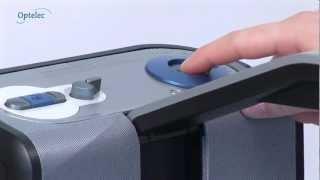 Produktvideo zu Vorlesegerät Optelec ClearReader LS20 CR Plus