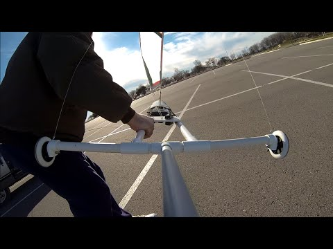 LAND YACHT FAST RC SAILING
