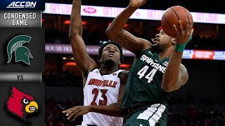 Michigan State vs. Louisville Condensed Game | 2018-19 ACC Basketball