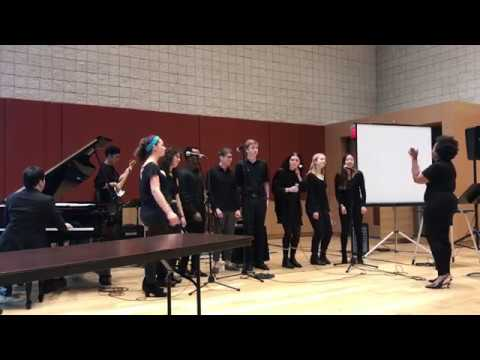 2017/11/09 NEC Gospel Ensemble at Burnes Room (Boston, USA)