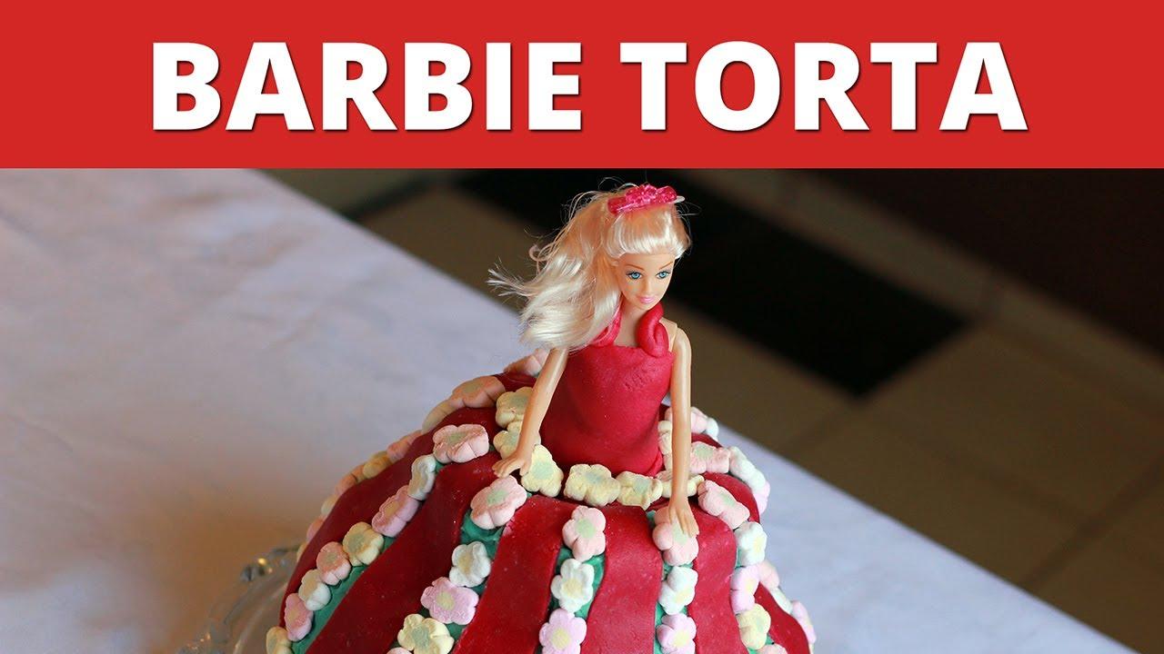 szülinapi torták gyerekeknek recepttel Barbie torta videó recept   YouTube szülinapi torták gyerekeknek recepttel