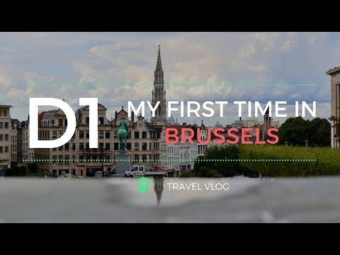 TRAVEL VLOG | Brussels, Belgium Day 1