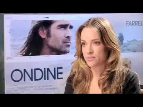 ALICJA BACHLEDA  for her new film ONDINE and her relationship with COLIN FARRELL