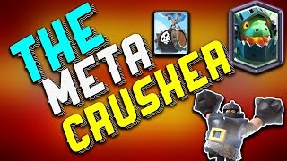 BEST MEGA KNIGHT INFERNO DRAGON and SKELETON BARREL DECK Clash Royale for Arena 10 11 and 12