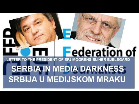 Serbia in media darkness