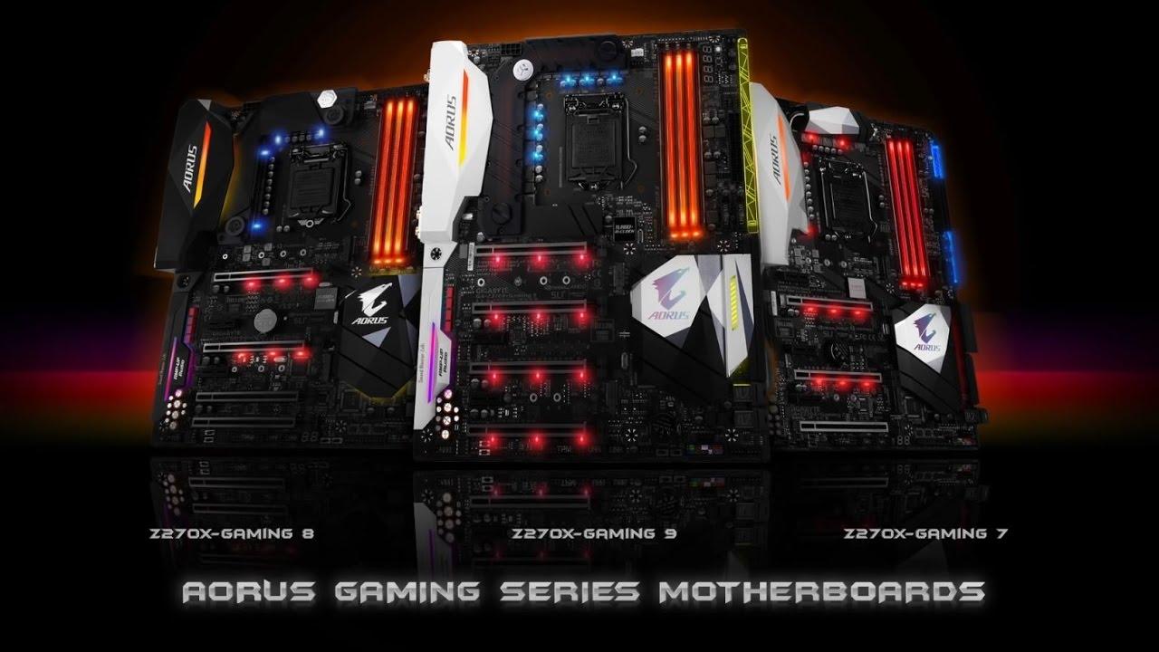 GIGABYTE AORUS Gaming - Z270X-Gaming 9 Promo Video