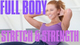 Amazing Full Body Stretch & Strength Conditioning Fitness Class Dancer Style!