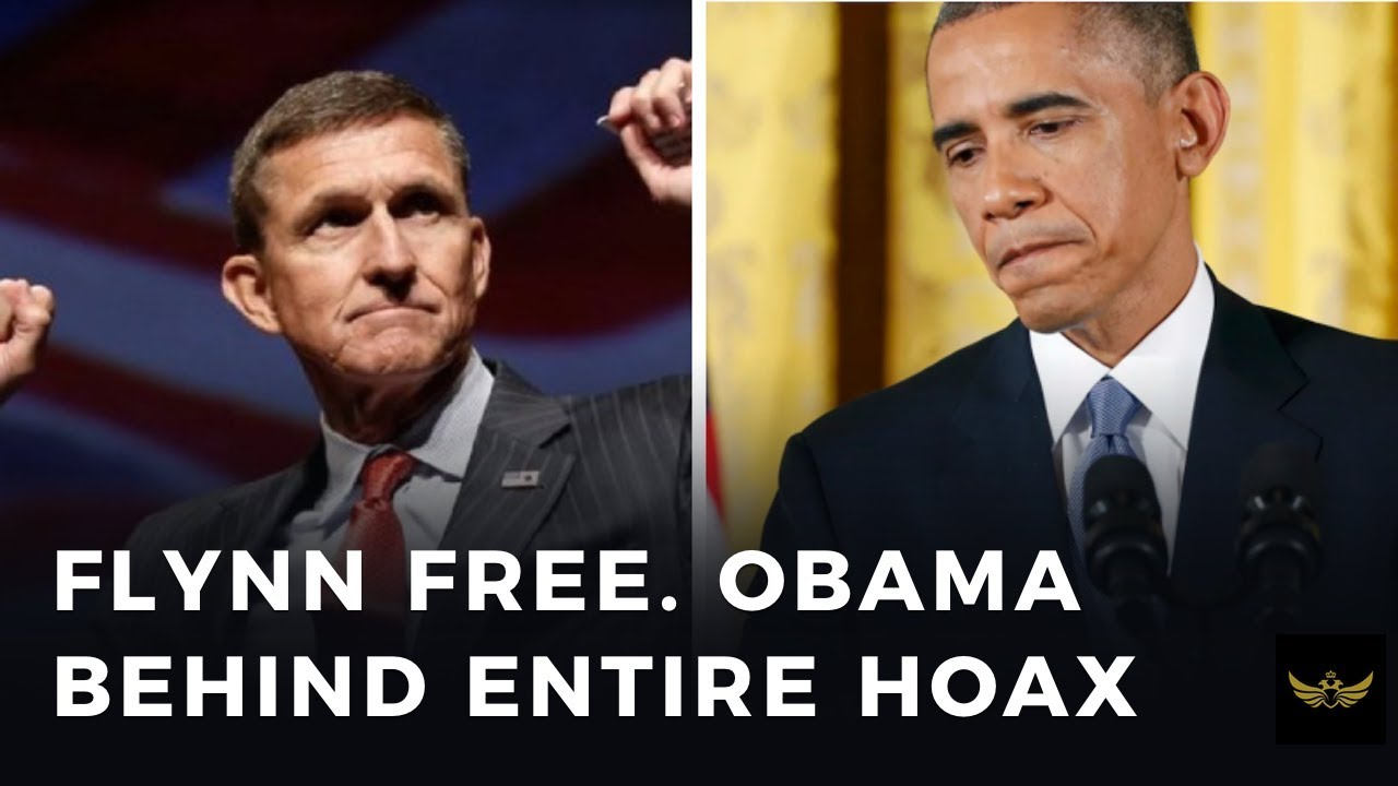 Flynn Free. Obama behind entire hoax - YouTube