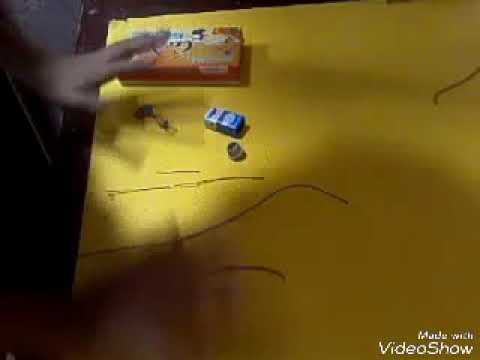 How to make an electrical maze game at home