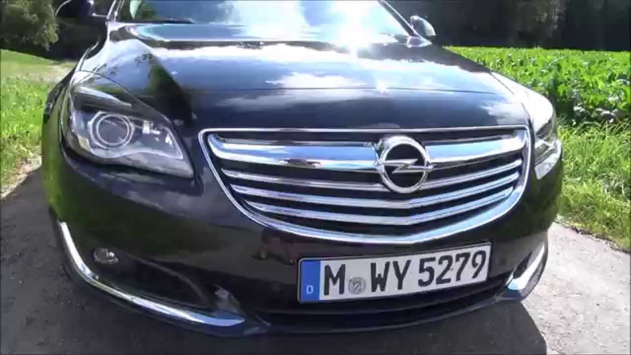 2014 opel insignia 2 0 cdti facelift ecoflex 163 hp test drive youtube. Black Bedroom Furniture Sets. Home Design Ideas