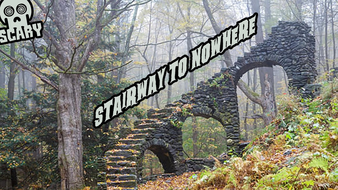 A Stairway To Nowhere-- Paranormal or Not?