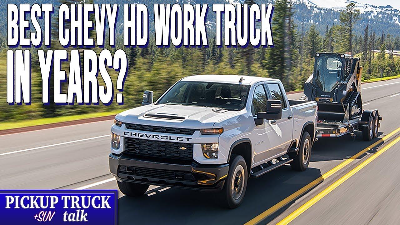 First Drive 2020 Chevrolet Silverado 2500 Hd 6 6l V8 Gas Work Truck Youtube