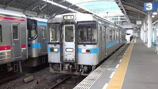 【案外希少なオリジナル車】高徳線 1000形 普通徳島行き 高松駅