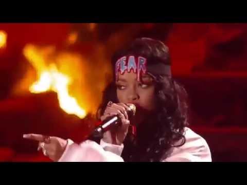 Eminem ft Rihanna  The Monster   at MTV Movie Awards 2014 HD