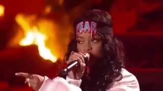 Скачать Eminem Ft Rihanna The Monster Live At MTV Movie Awards 2014 HD