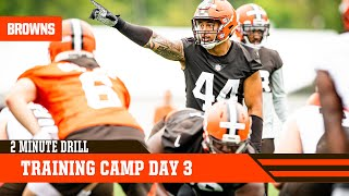 Training Camp Day 3 | 2 Minute Drill
