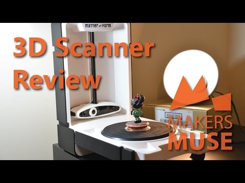 Matter and Form 3D Scanner Review - 2015
