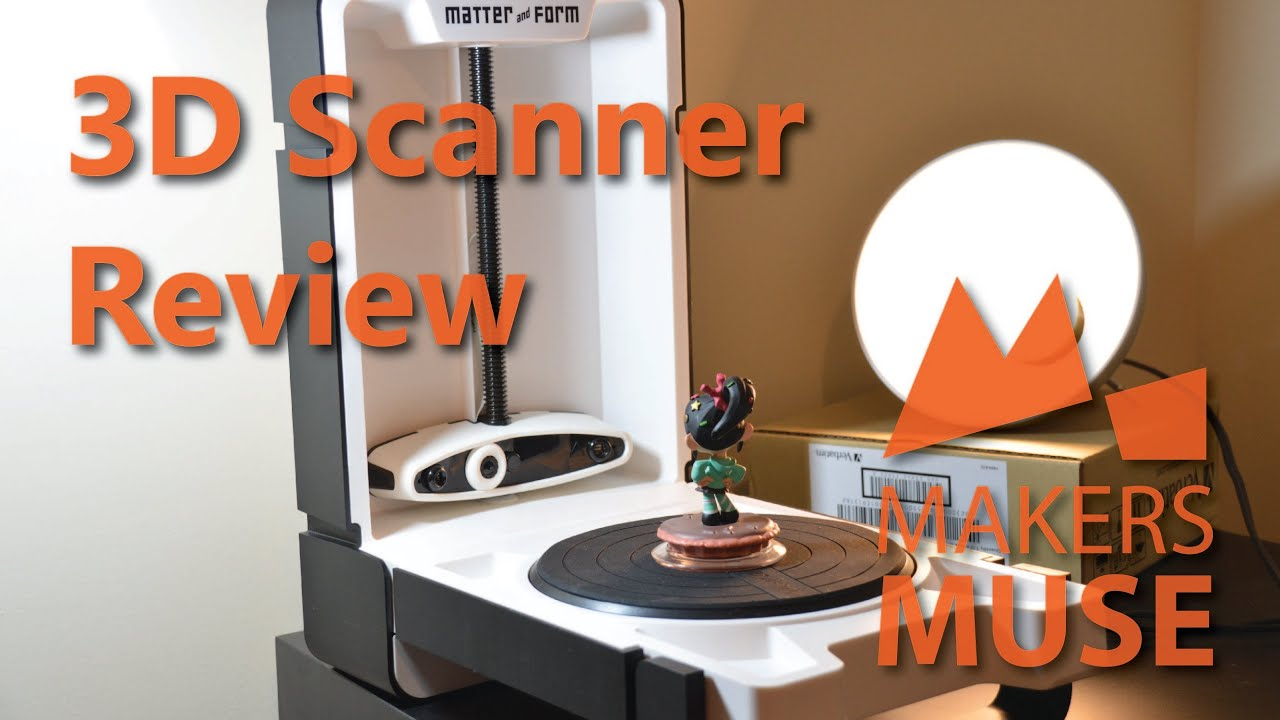 Matter and Form 3D Scanner Review - 2015 - YouTube