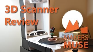 Matter and Form 3D Scanner Review(, 2015-08-29T17:13:29.000Z)