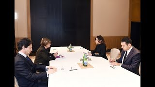 Мехрибан Алиева встретилась с вице-президентом Сената Италии Линдой Ланцилотта(, 2018-03-16T07:00:00.000Z)