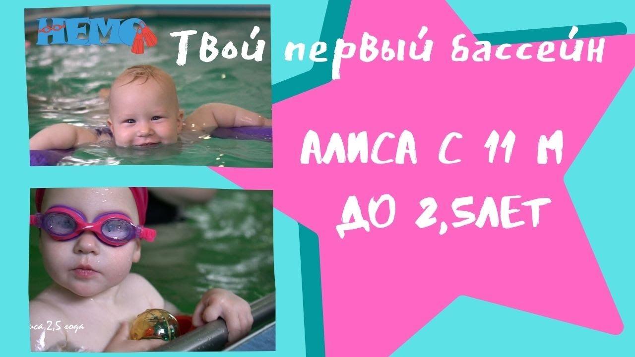 Плавание в 2,5 года🌏Swimming at 2.5 years old