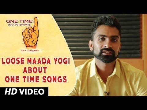 One Time Kannada Movie || Loose Maada Yogi Wishing One Time Movie team || Tejus, Neha Saxena