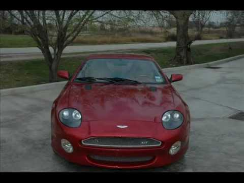 2003 Aston Martin Db7 Gt Youtube