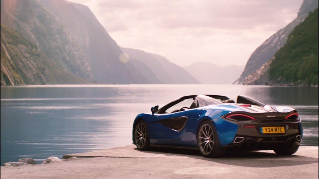 McLaren 570S Spider Exhilaration Amplified YouTube