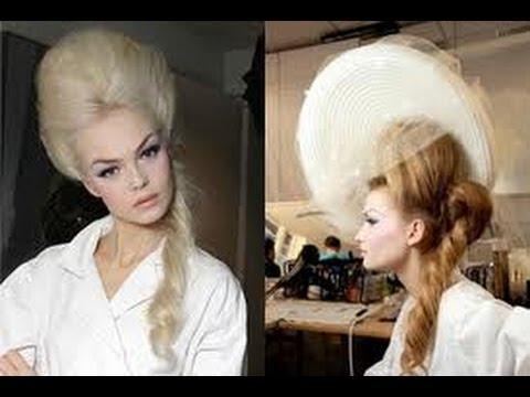Marie Antoinette Inspired Hair