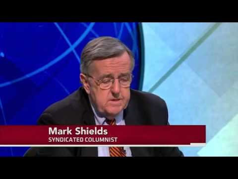 PBS  Shields and Brooks on Obama's New Term, Gun Control