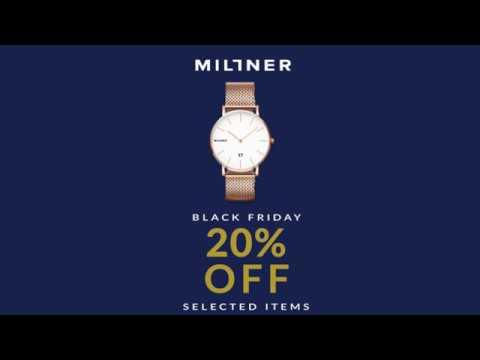 Millner Black Friday Sale