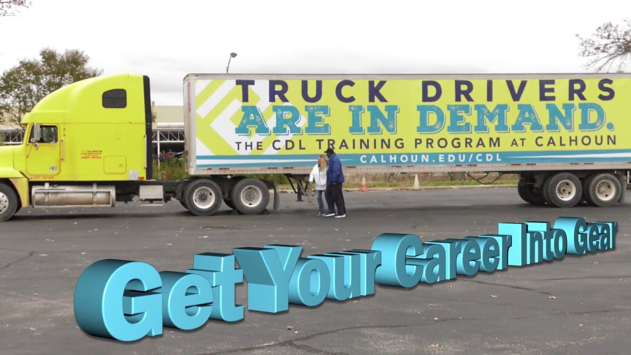 CDL & Logistics Training – Calhoun Community College