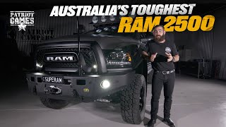 Building Australia's ULTIMATE Offroading RAM 2500 • Patriot Games Season 2