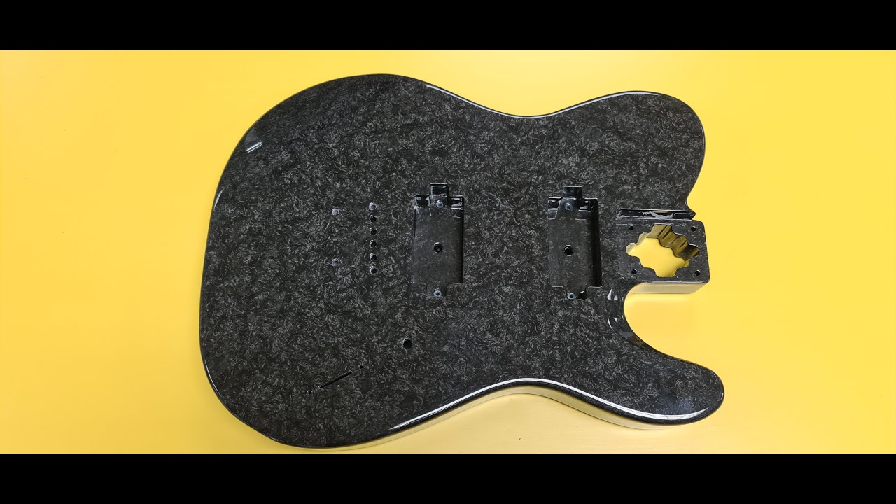 SHAPE Machining, Supernatural-X collaborate on composite electric guitar
